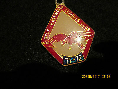1971- 72 Ryde Eastwood Rugby League Club  Member 1316  Patricks Badge