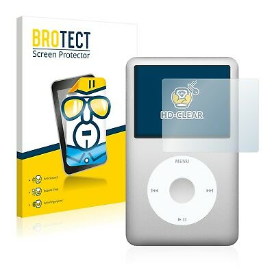 2x BROTECT Displayschutzfolie Klar Apple iPod classic 6. Generation Schutzfolie