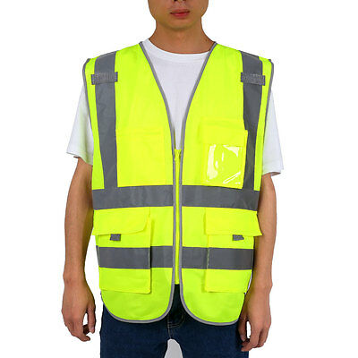 Visibility Reflective Vest Working Clothes Motorcycle Cycling Sports Clothing