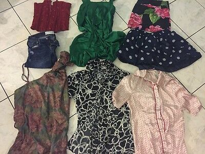 Used Clothes Lots 8 Tank Top Shirt. Size Small. Abercrombie Hollister Wet Seal