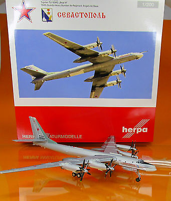 """558204  Russian Air Force Tupolev TU-95MS """"Bear H"""" - 184th Guards Heavy Bomber A"""