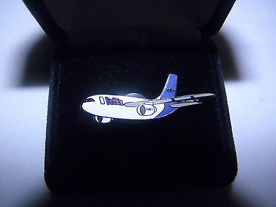 Collectable Fedex Air Bus A310 Airplane Lapel Tac Pin Pilot F/a Christmas Gift