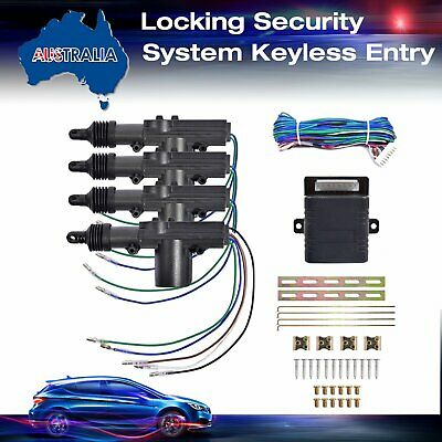 Auto Car Remote Central Control Door Lock Locking Keyless Entry System Kits