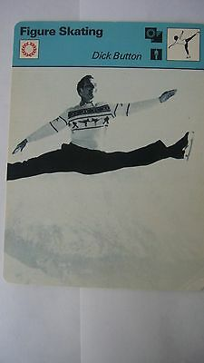 Rare Sportscaster Rencontre Collectable Card Figure Skating Dick Button