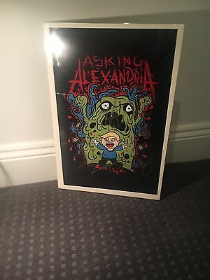 Signed Asking Alexandria Poster