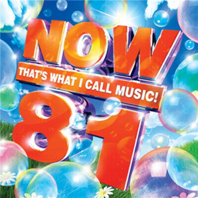 Various Artists : Now That's What I Call Music! 81 CD 2 discs (2012) Great Value