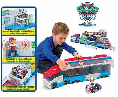 Paw Patrol Paw Patroller Deluxe Play Lorry Toy Kids Toys Patrol Truck GIFT NEW