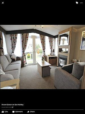 Haven Site 6 Birth De-Luxe Holiday Caravan For Hire. Caister On Sea, Yarmouth