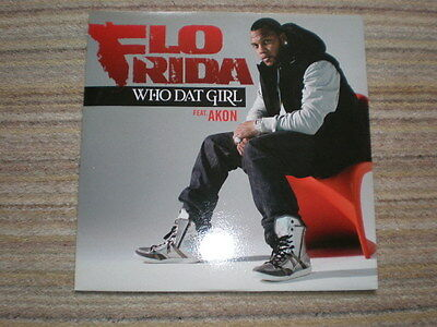 FLO RIDA - Who Dat Girl, Feat. AKON 12 inch single ( a new and unplayed copy)