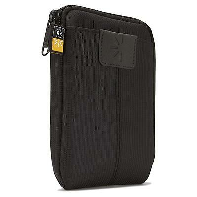 NEW Case Logic Portable Hard Drive Pouch Zipper Protective Carrying Black DEALS