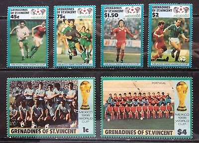GRENADINES OF ST VINCENT - Football World Cup 1986