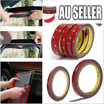 5 X Vehicle 3M Strong Permanent Double Sided Super Sticky Versatile Roll Tape