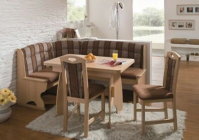 New Luzern Eckbank Kitchen Dining Corner Seating Bench Table 2 Chairs 899 99 Picclick Uk