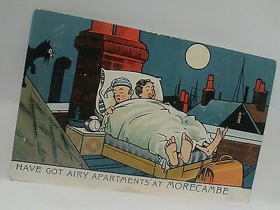 comic postcard posted 1917 from england vintage 1900 s antique funny comedy