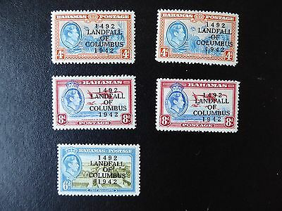 Bahamas stamps KGVI 1938 mint part set