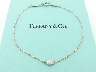Authentic TIFFANY & CO Sterling Silver Diamonds by the Yard Bracelet