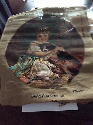 D'apres Reynolds Unfinished Tapestry