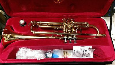 John Packer Smith Watkins JP351SWLT Bb Trumpet in case
