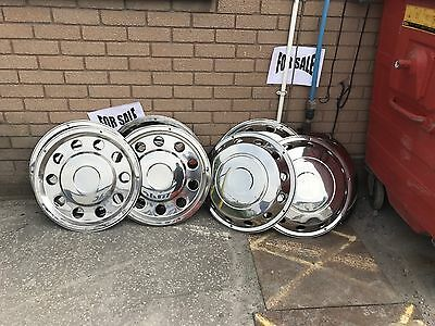 Volvo Daf Iveco Scania Merc Chrome Wheel Trims
