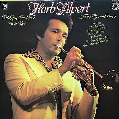 Herb Alpert & the Tijuana Brass - This Guy's In Love With You - LP MFP 50432