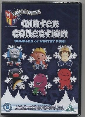 Brand New And Sealed Hit Favorites Winter Collection Childrens Dvd Bargain