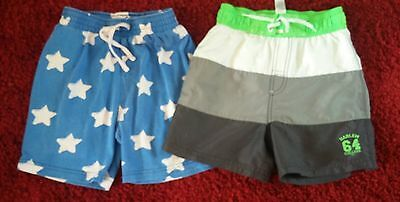 2 Pair Bundle Of Boys Shorts - Age 6/7 Yrs - Unwanted