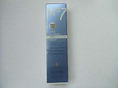 No7 Lift And Luminate Triple Action Serum 30ml