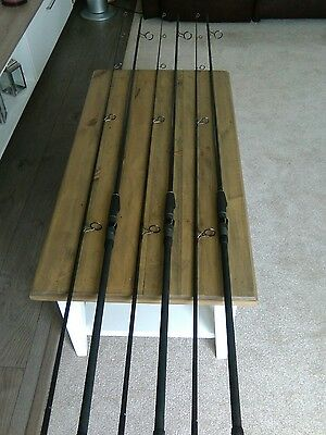 century carp rods NG  2.75lb x 3. VGC !  COLLECTION ONLY.