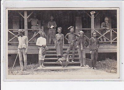 PHILIPPINES old postcard : datre momenton charged with murdering seven americans