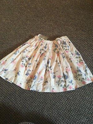 Girls Age 4-5 Years Next Skirt New With Tags