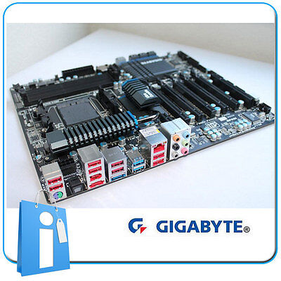 Placa base ATX 990FX GIGABYTE GA-990FXA-UD5 Socket AM3 sin Chapa ni Acces