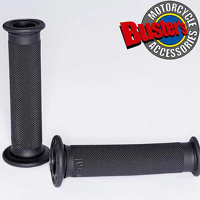 New Renthal Road Race Motorcycle Handlebar Grip Firm Grey Compound Grips Pair