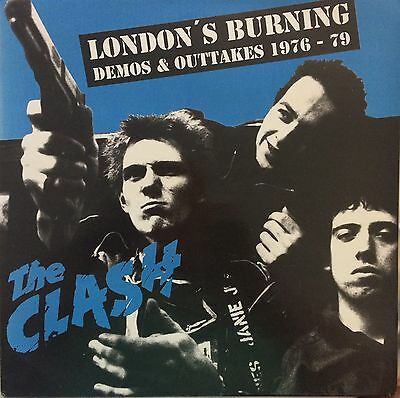 The Clash London's Burning Demos & Outtakes 1976-79 L.p. Clear Vinyl