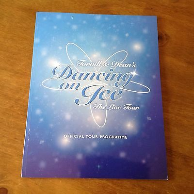 "Torvill And Deans ""Live Tour Programme"