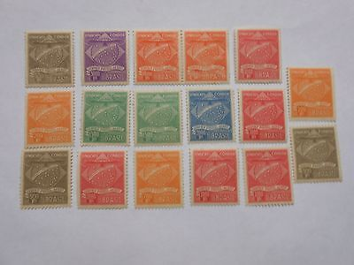 Timbres Bresil Poste Aerienne  Compagnie Condor Neuf**