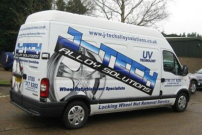 Fully Equipped Mobile Alloy Wheel Refurbishment Business, Van Included