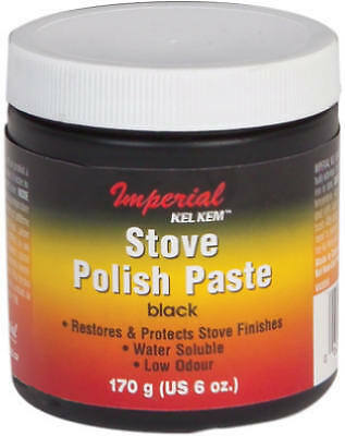 IMPERIAL MFG GROUP USA INC 6-oz. Black Stove Polish Paste