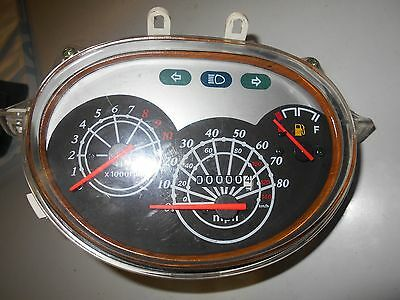 Speedometer gauge Tach Chineses scooter