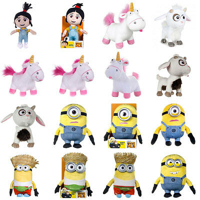 Despicable Me 3 Plush Bears and Toys