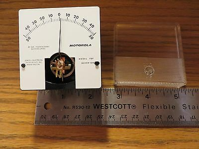 Motorola Model 72T #821919-108 Electrical Gauge – Usa Made
