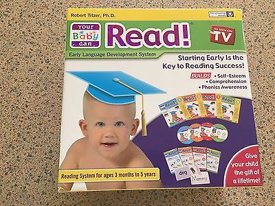 Your Baby Can Read Complete Set Slightly Used Learning Program DVDs Books