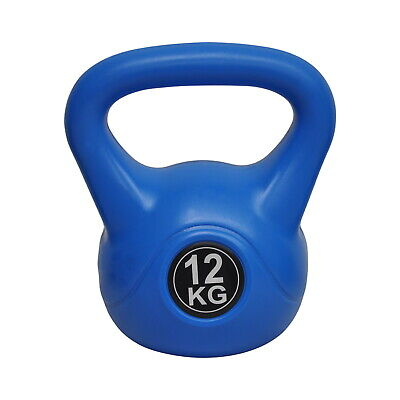 Energetics 12Kg Kettlebell - Home Gym Kettlebell Weight Fitness -Blue