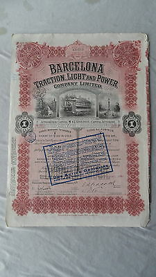 Barcelona Traction, Light and Power Company-Action von 1923-Spanien