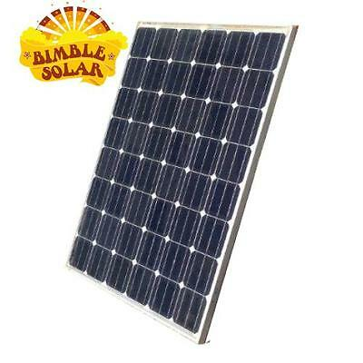 175W 12V Monocrystalline Used Solar Panels - Great size for vans, campers and bo