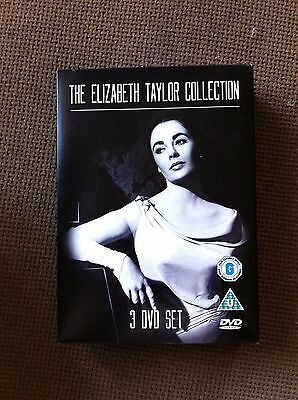 THE ELIZABETH TAYLOR COLLECTION DVD BOX SET New