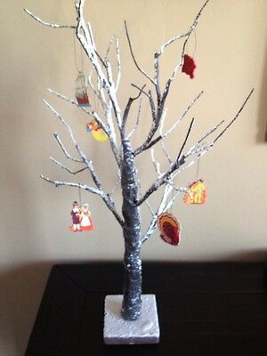 Order Home Collection LED 2ft Snow Branch Fall Thanksgiving Tree