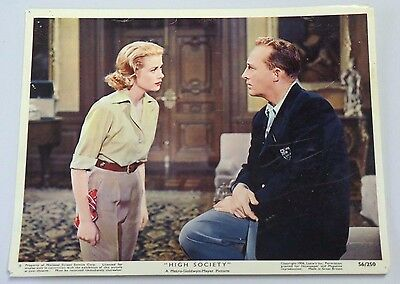 "GRACE KELLY & BING CROSBY ""HIGH SOCIETY"" 1956 8x10 Colored Movie Still HTF"