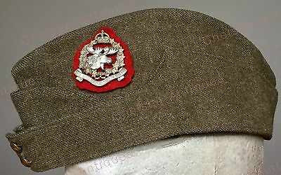 Wwii The New Brunswick Rangers Wedge Cap, Dated 1940