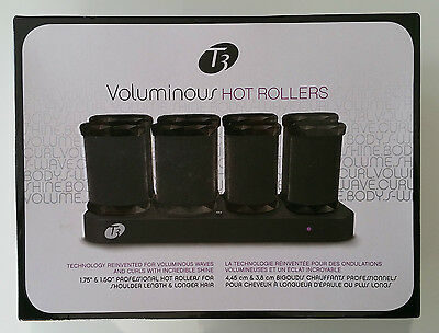 """T3 Voluminous HOT ROLLERS (4x 1.75"""" and 4x 1.50"""" sizes)"""