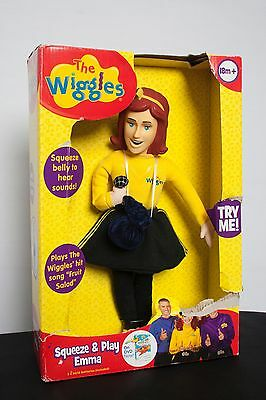 "The Wiggles 15"" Squeeze & Play Emma Doll BRAND NEW!!!"